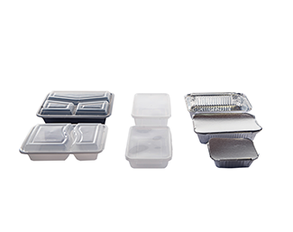 <p>Food packaging In plastic or cardboard, trays or cups, we offer as many solutions for the sale of food or take out snacks and for fast food.</p>