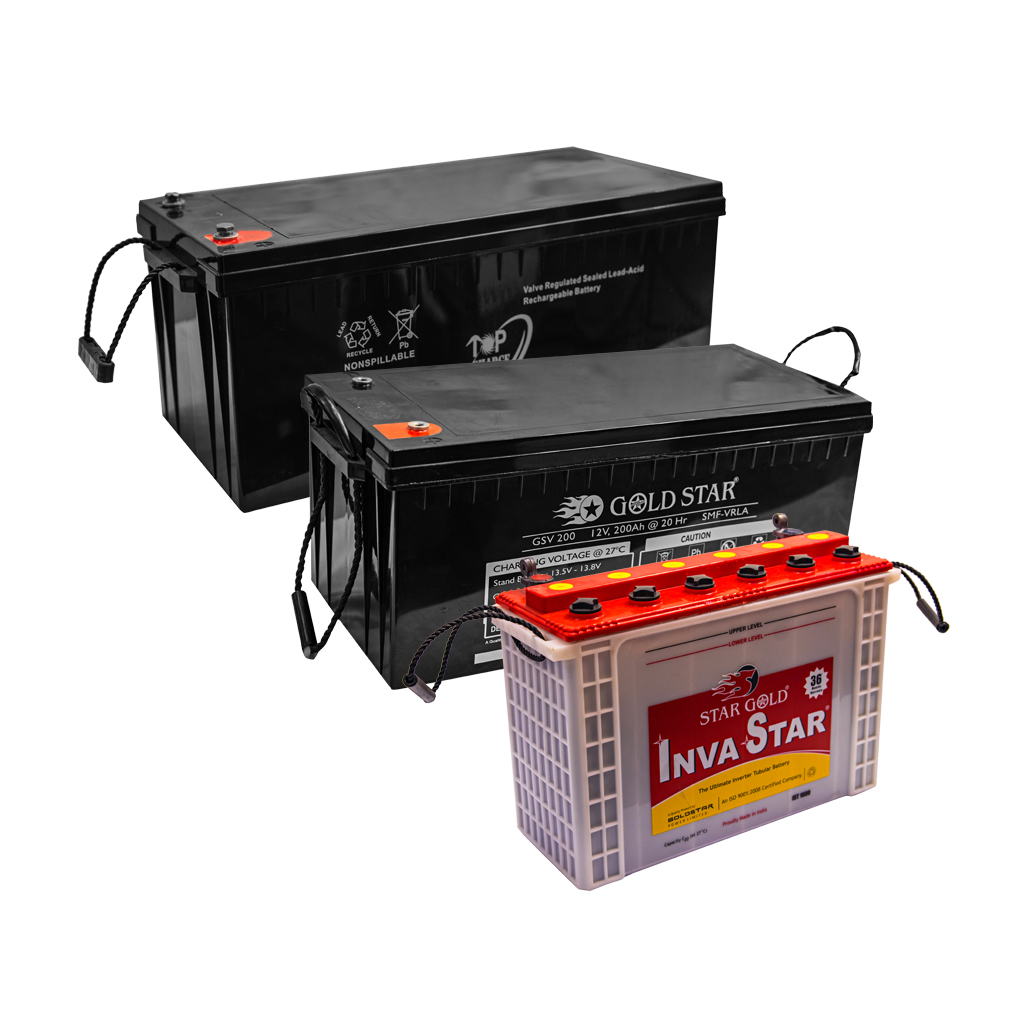 BATTERIES SOLAIRES 12V